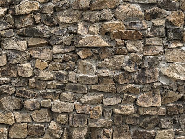 石積み壁表面テクスチャ背景