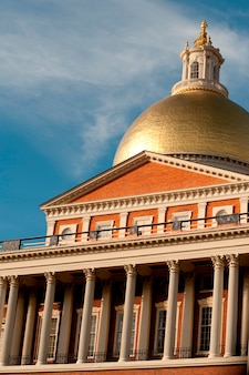 Massachusetts state building in boston, massachusetts, usa