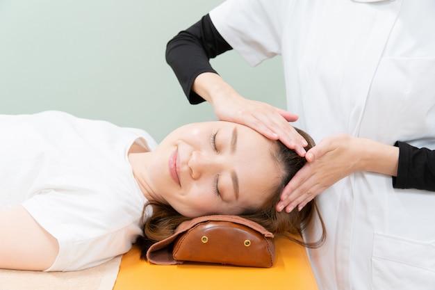 Massage head