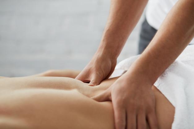 Massage man.
