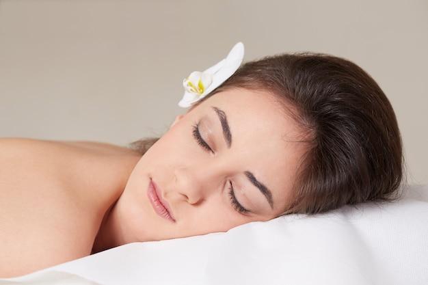 Massage at spa club