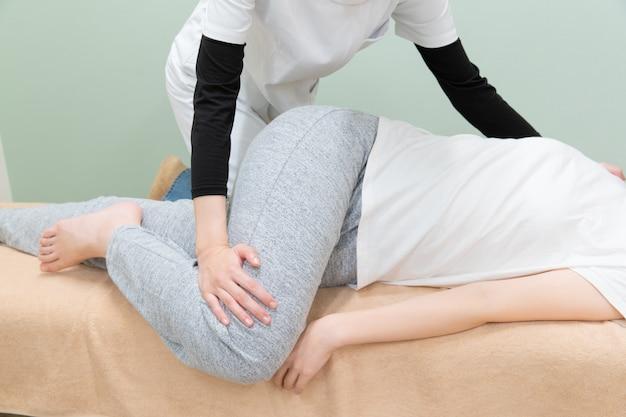 Massage waist