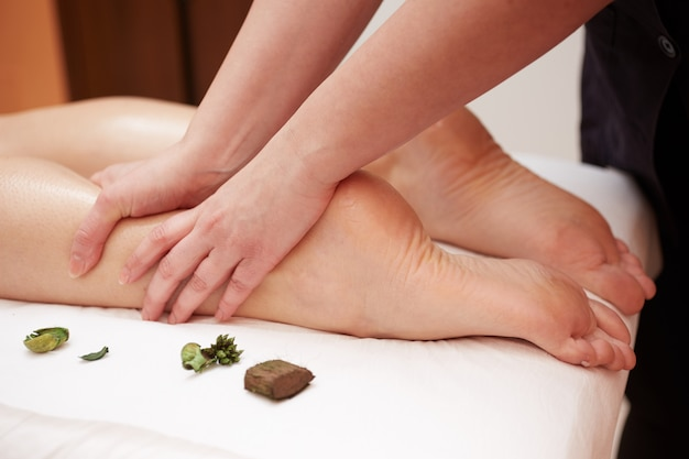 Massage at wellness club