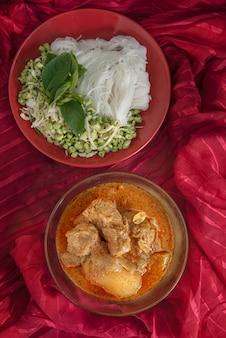 Massaman pork curry
