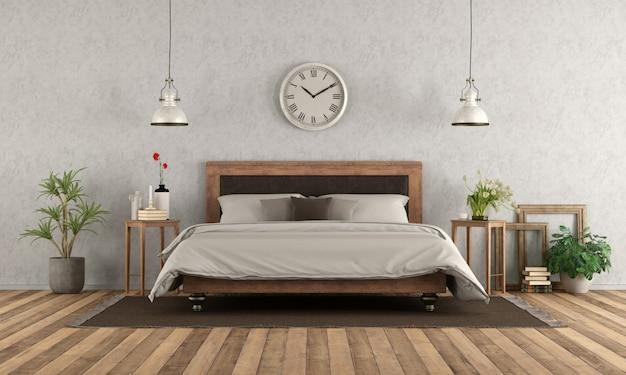 고전적인 스타일의 침실