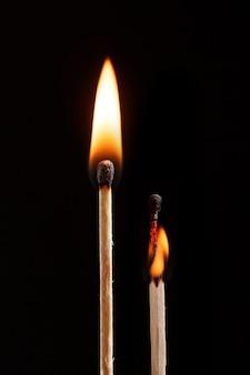 Спичка с изолированным пламенем