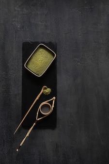 Набор для зеленого чая matcha