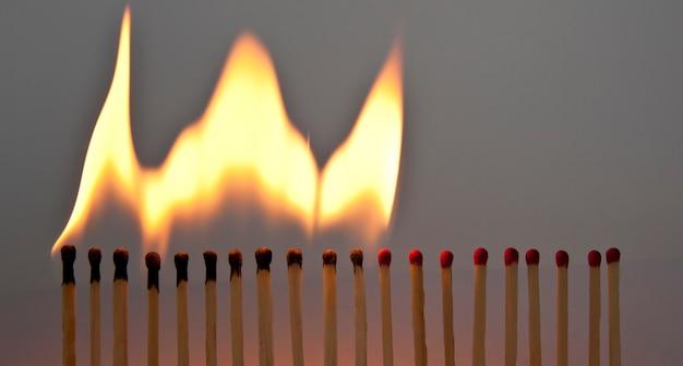 Матчи зажигания один за другим