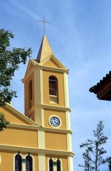サレソポリスの小さな町にある聖ヨセフの行列教会