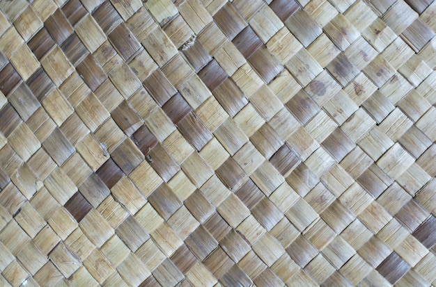Mats made of pandanus leaves