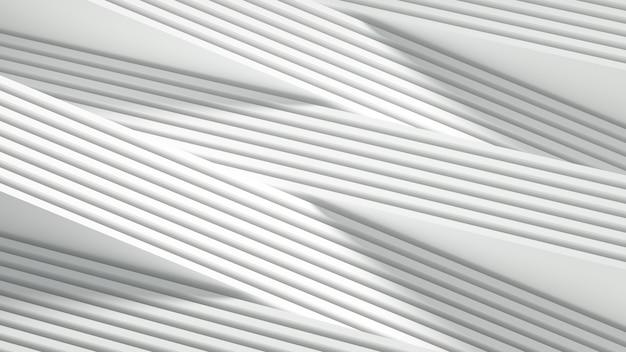 입체 인쇄, 파도 및 줄무늬가있는 무광택 배경. 3d 그림, 3d 렌더링입니다.