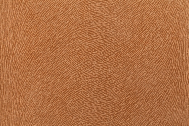 Matte brown fabric imitating animal fur