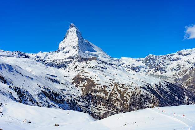 Matterhorn peak Premium Photo