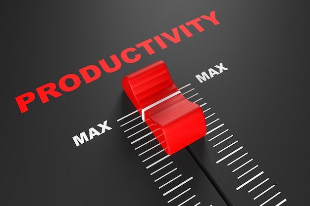 Ползунок смесителя максимальной производительности, экстремальный крупный план