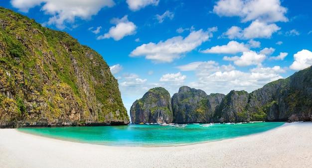 Maya bay on koh phi phi leh island