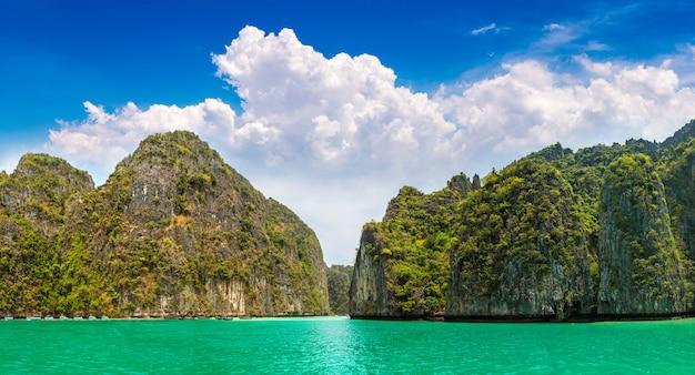 Maya bay on phi phi leh island