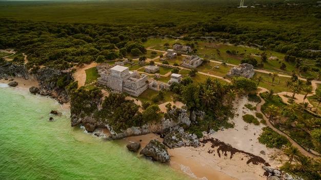 トゥルムのマヤ遺跡