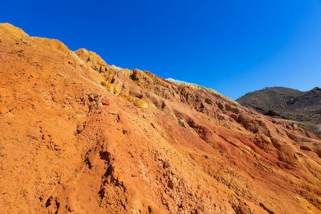 スペインのmazarron murcia古い鉱山