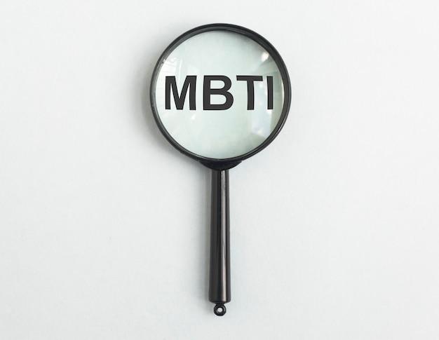 Mbtiの頭字語ソシオニクス性格検査の概念と拡大鏡