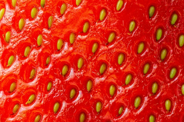 Mcaro picture of strawberry surface nature texture background