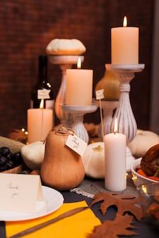 Meal arrangement for thanksgiving