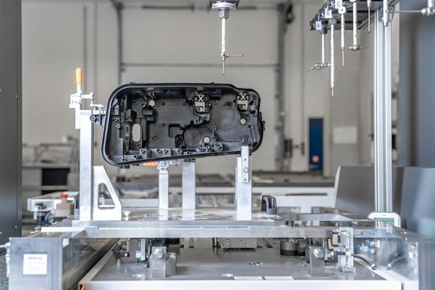 研究センターでのプラスチック鋳造3d技術の測定