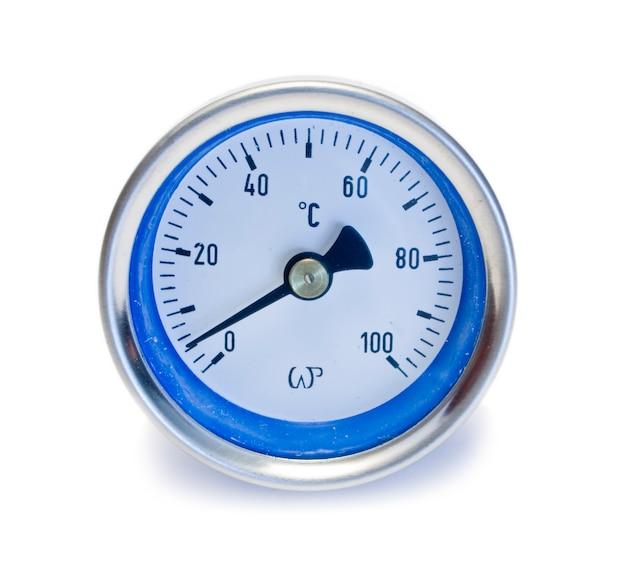 白の測定圧力