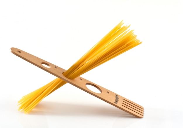Measurer for spaghetti