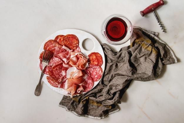 Meat assorti plate