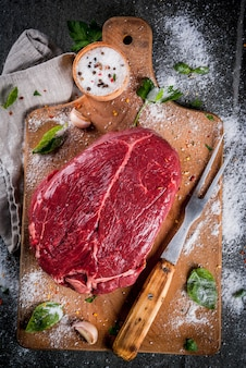 Meat. beef, veal. fresh raw tenderloin, piece without bone