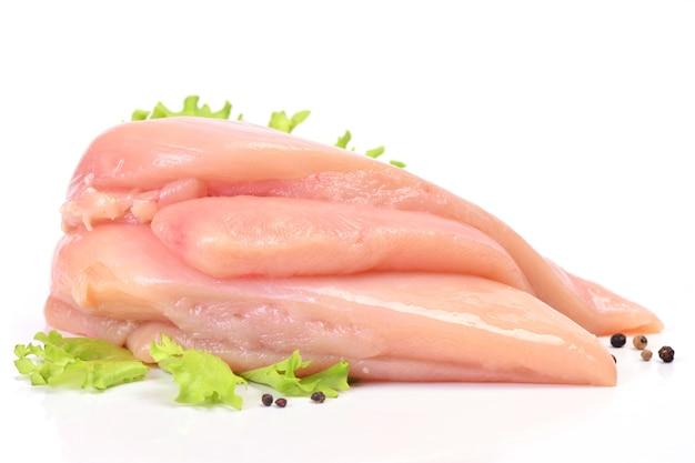 分離された肉鶏
