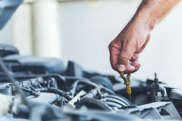 Mechanic car service in automobile garage auto car and vehicles service mechanical engineering
