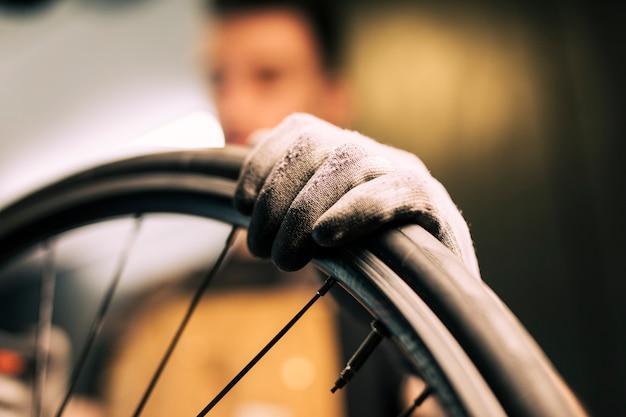 자전거 수리 정비공