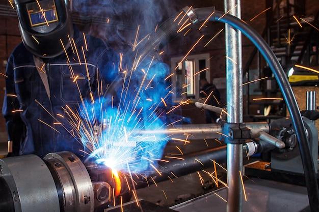 Механика сварки металла