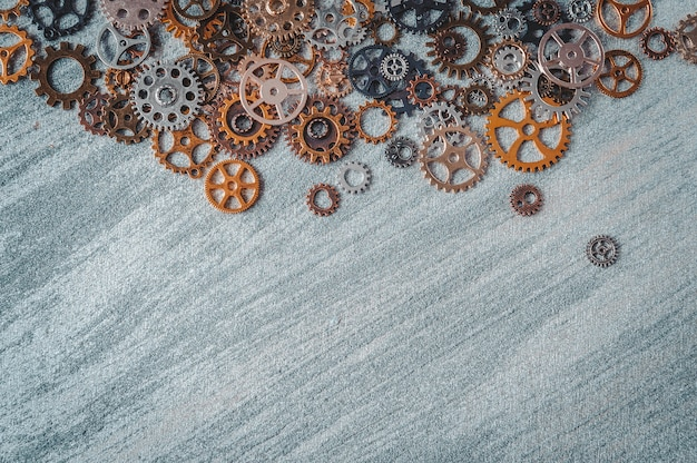 Mechanical gears and cogs