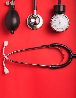 Medical background. cardiologi medical tools