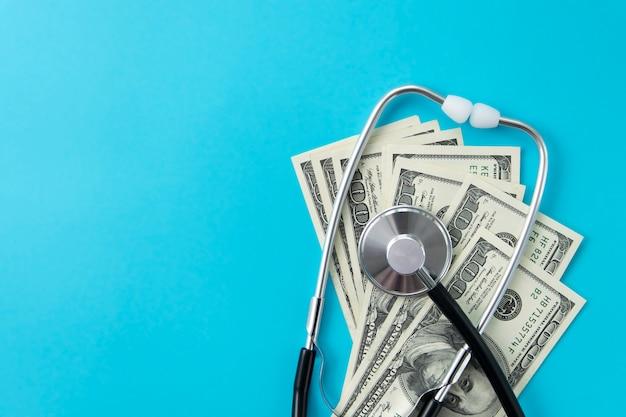 医療ビジネスと金融の概念