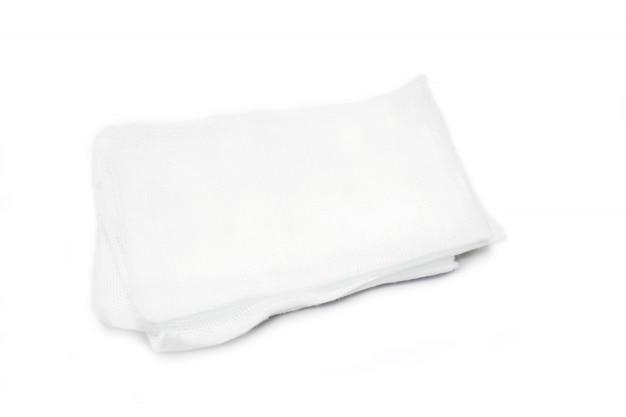 Medical gauze sheet isolate