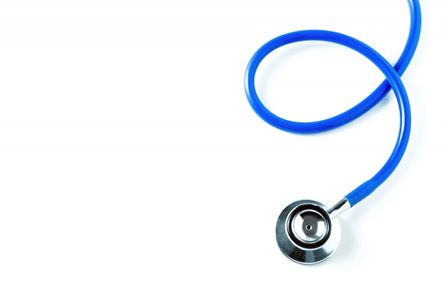 Medical and hospital concept. stethoscope.  health care concept