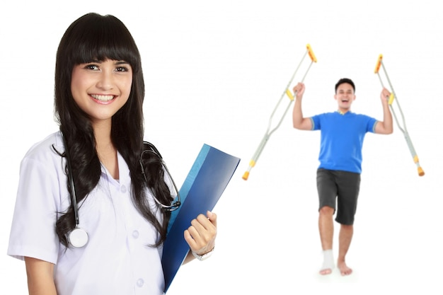 Medical physiotherapist