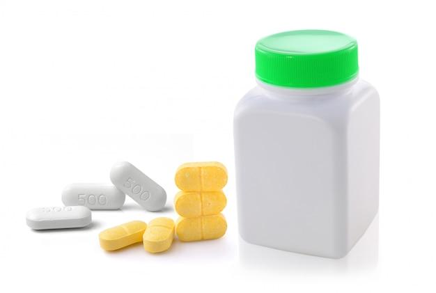 Таблетки медицинские таблетки изолированные