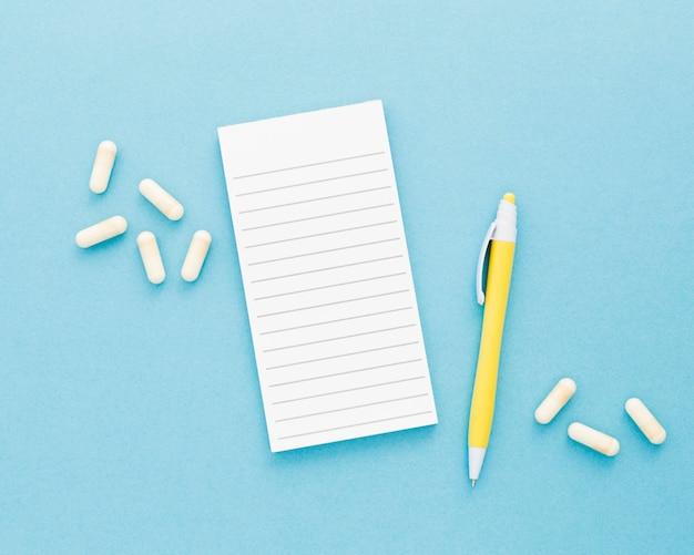 Prescrizione medica e pillole
