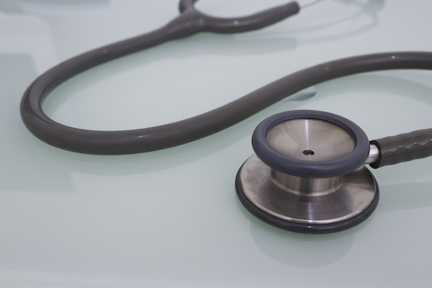Medical stethoscope for examination care fot health