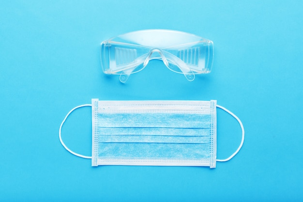 Medical surgeon face protection kit for medical worker