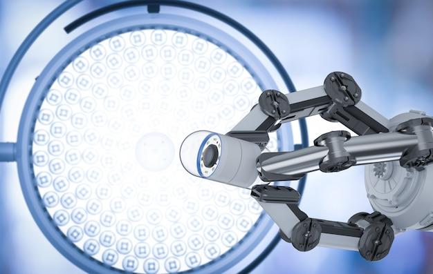 カプセル内視鏡を備えたロボットアームを備えた医療技術