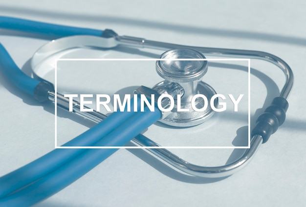 청진 기 의학 용어 개념에 의료 용어 단어