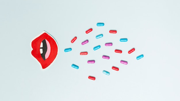 Medical treatment with pills