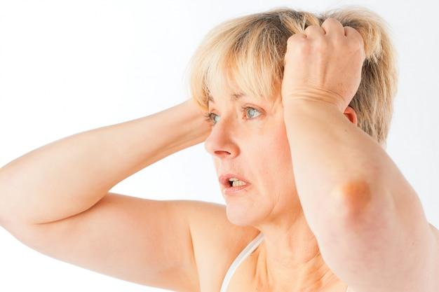 Medicine and disease - headache or migraine
