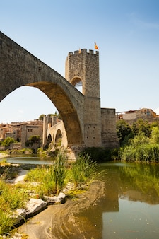 Medieval bridge wuth gate