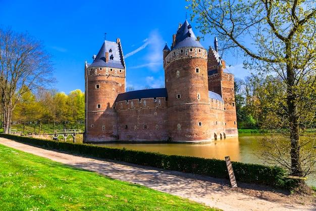 中世の城ベールセル。ベルギー